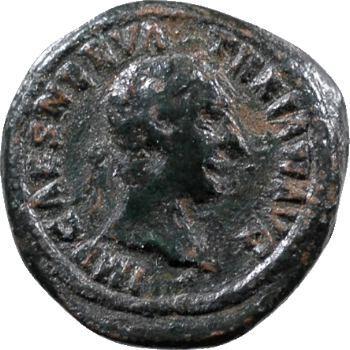 Trajan, quadrans des Mines, Rome, 99-102
