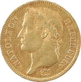Premier Empire, 40 francs Empire, 1811 Paris