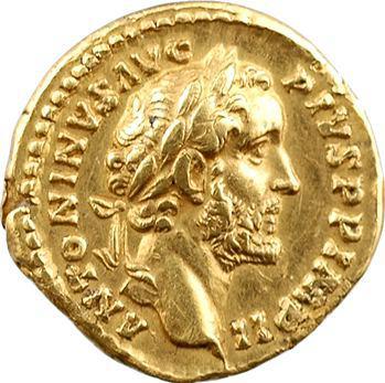 Antonin le Pieux, aureus, Rome, 156-157
