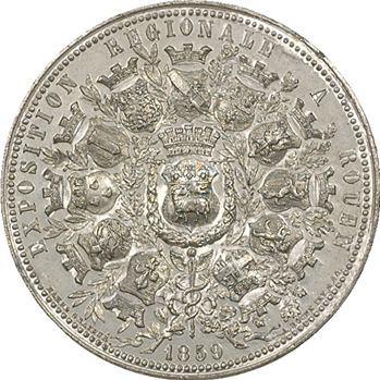 Second Empire, Exposition régionale de Rouen, 1859