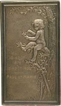 Daniel-Dupuis (J.-B.) : le nid, noces d'argent, 1900 Paris