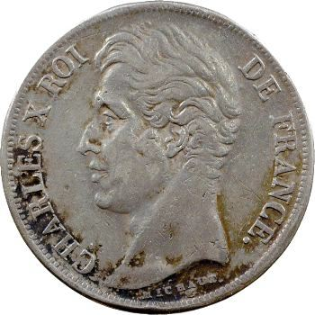 Charles X, 2 francs, 1828 Rouen
