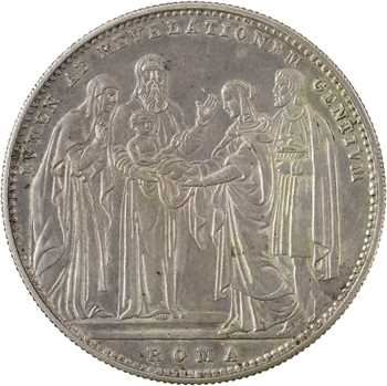 Vatican, Grégoire XVI, scudo, 1834/IV Rome