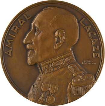 IIIe République, l'Amiral Lacaze, ministre de la Marine (Académie des sciences coloniales), par Lavrillier, s.d. Paris