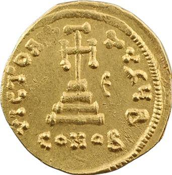 Constant II, solidus, Constantinople, 2e officine, 646-647
