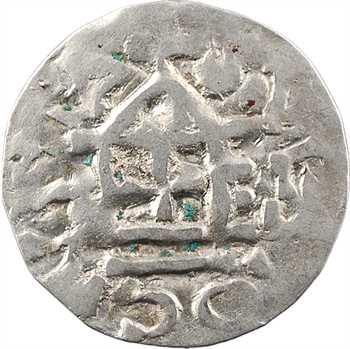 Soissons (comté de), sous Guillaume Busac (ou du Busc) ou Eudes II, denier au temple, s.d. (début du XIe s.)