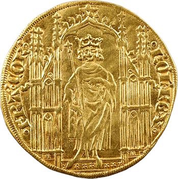 Charles IV, royal d'or aux annelets