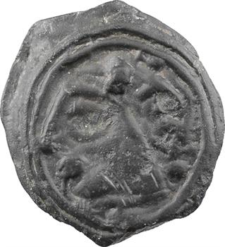 Carnutes, potin à l'aigle à droite, IIe-Ier s. av. J.-C