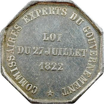 Paris, Commissaires-Experts du gouvernements, 1831