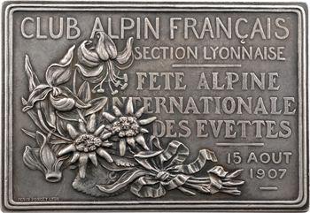 IIIe République, Club Alpin Français, fête des Évettes, 1907 Paris