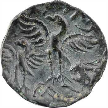 [Carnutes ou] Bituriges Cubes, bronze à l'aigle CALIAGIID, classe III, c.60-40 av. J.-C