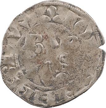 Bretagne (duché de), Jean III, double tournois, s.d. (c.1341)