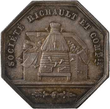 Second Empire, Comptoir d'escompte d'Orléans (Sté Richault), 1854 Paris