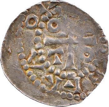 Metz (ville de), Otton I, II ou III, denier au temple, s.d. (963-984) Metz