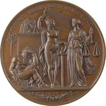 Louis-Philippe Ier, le triomphe de la Vérité et de la Justice, par Montagny, 1834 Paris