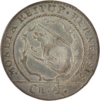 Suisse, Berne (canton de), 4 kreuzer (1 batzen), 1794 Berne