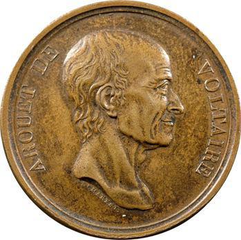 Voltaire (Arouet de) par Rambert Dumarest, refrappe postérieure