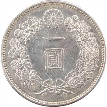 Japon, Mutsuhito (Meiji), un yen, An 20 (1887)