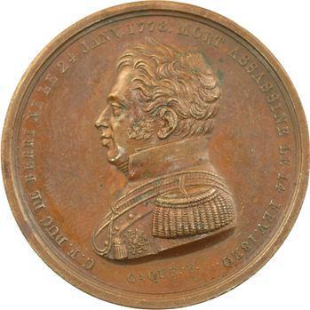 Mort du duc de Berry et espoirs envers Caroline de Bourbon-Siciles, 1820 Paris