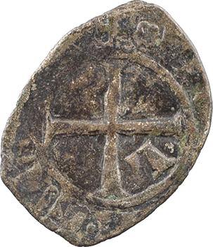 Limousin, Limoges (vicomté de), Jean III, vicomte et duc de Bretagne, denier, s.d. (1312-1314) Limoges