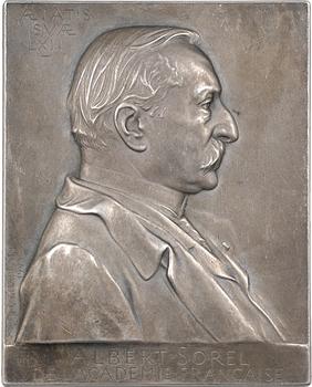 Chaplain (J.-C.) : Albert Sorel (Académie Française), 1904 Paris