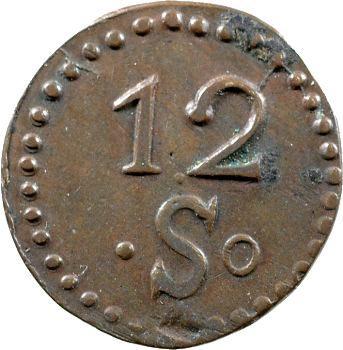 Louis XVIII, Mines d'Aniche, 12 sols