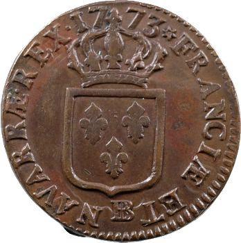 Louis XV, sol à la vieille tête, 1773 Strasbourg