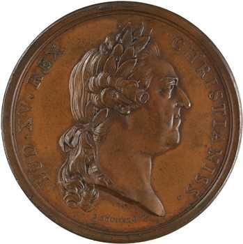 Louis XV, mariage de Charles Philippe, comte d'Artois et Marie Thérèse de Savoie, 1773 Paris