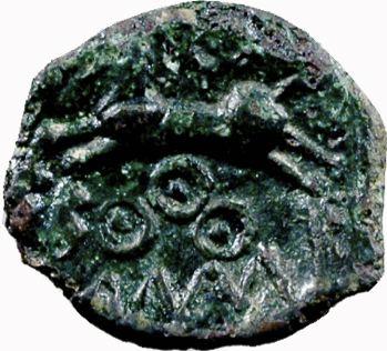 Suessions, bronze à la légende KALOY, c. 60-50 av. J.-C.