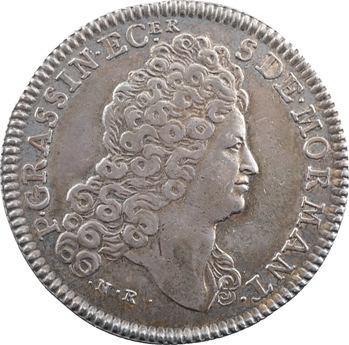 Bourgogne, Pierre Grassin et Charlotte Dupuy, par Roëttiers, s.d. (XVIIIe) Paris