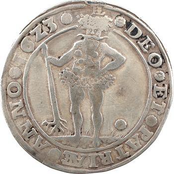 Allemagne, Brunswick-Wolfenbüttel, Frédéric-Ulrich, thaler, 1623 Zellerfeld