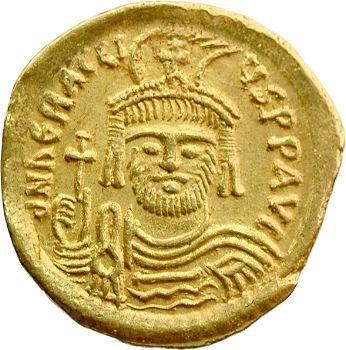 Héraclius, solidus, Constantinople, 610-613