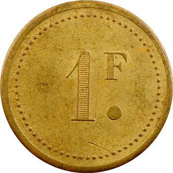 Tunisie, 1 franc, 10e R.T.S. de Teboursouk, s.d