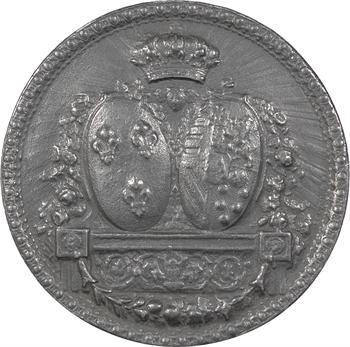 Louis XVI, sceau de Marie-Antoinette (épreuve), par Lorthior, s.d