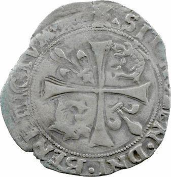 François Ier, Grand blanc du Dauphiné 3e type, Romans