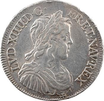 Louis XIV, demi-écu à la mèche longue, 1648 Paris