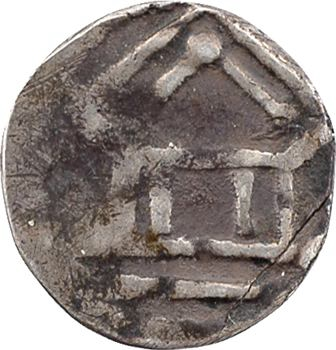 Metz (évêché de), Adalbéron II et Othon III,  obole au temple, s.d. (984-1002)