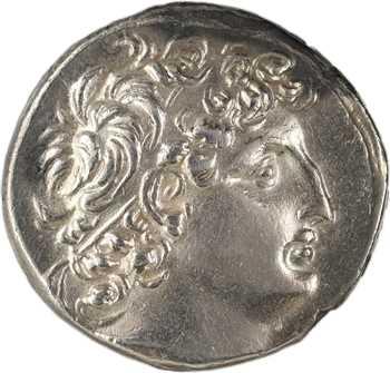 Syrie, Antiochos VIII, tétradrachme, Damas, c.120-119 av. J.-C