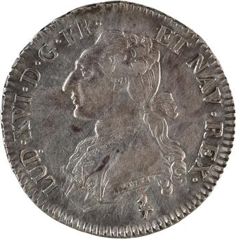 Louis XVI, demi-écu aux branches d'olivier, 1783, 2d semestre, Paris