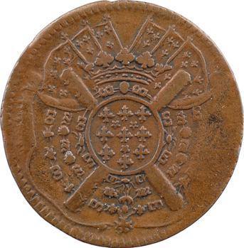 Louis XIV, siège de Lille, XX sols, 1708 Lille