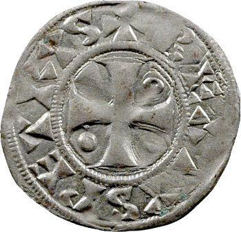 Troyes (comté de), Thibaut II, denier, Troyes