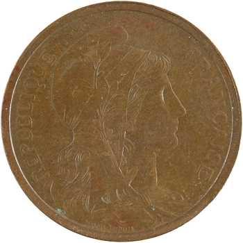 IIIe République, 2 centimes Daniel-Dupuis, 1919 Paris