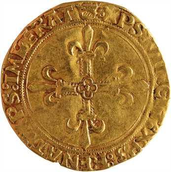 François Ier, écu d'or au soleil du Dauphiné 1er type, Crémieu