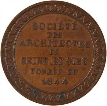 IIIe République, Société des architectes de Seine et Oise, par Allain, s.d.