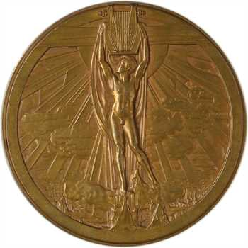 IVe République, hommage à Wagner, par Bazor, s.d. (1947) Paris