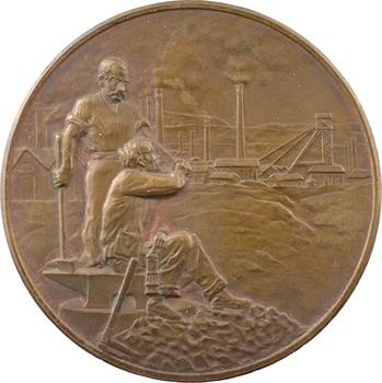 Mines : centenaire de l'école des mines de Saint Étienne, par Penin, 1816-1916 Paris