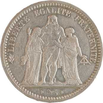 La Commune, 5 francs Camélinat, 1871 Paris