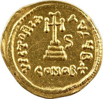 Constant II, solidus, Constantinople, 2e officine, 647-648