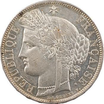 IIe République, 5 francs Cérès, 1850 Paris