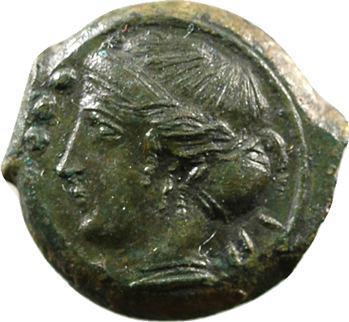 Sicile, bronze, Himéra, c.420-408 av. J.-C.